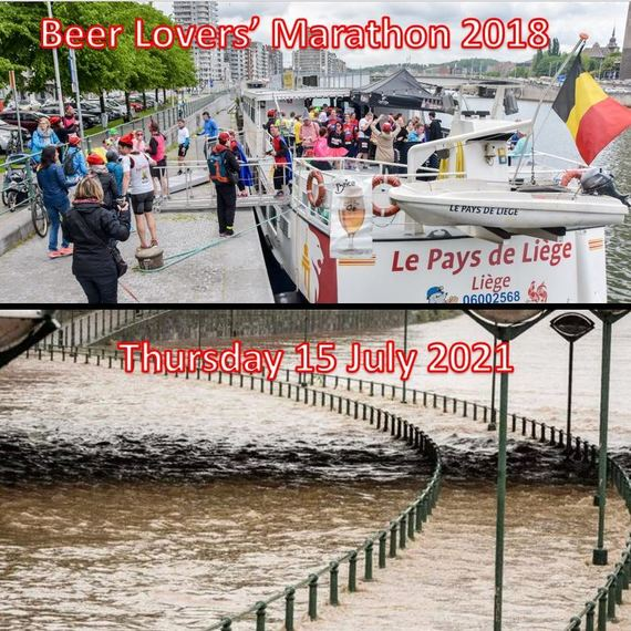Soutien Inondation - Flood support - Beer Lovers' Marathon