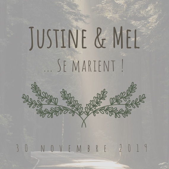 Mariage Justine et Mel
