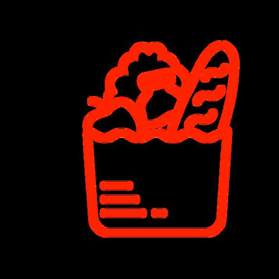 Restauration de la distribution des colis alimentaires