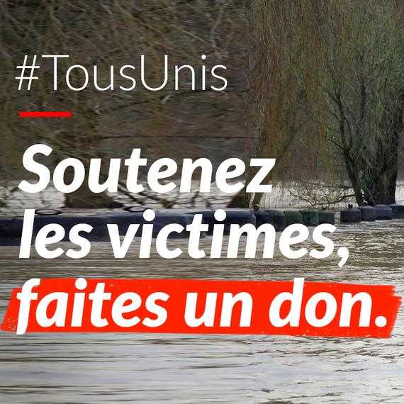 Dons solidaires pour les sinistrés de Wallonie